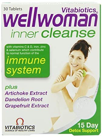 Wellwoman Vitabiotics Inner Cleanse 30 Tablets by Wellwoman