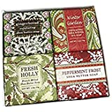 Shea Butter Soap Sampler - Boxed Set of 4 Assorted Scents