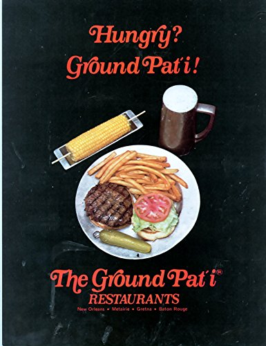 "The Ground Pat'i Restaurant Vintage Magazine Ad- ""Hungry Ground Pat'i"""
