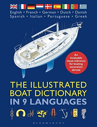 The Illustrated Boat Dictionary in 9 Languages by Adlard Coles