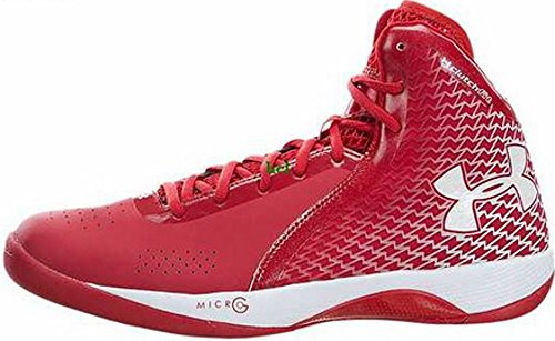 Under Armour Herren Micro G Torch Basketball Schuhe Rouge Rot 1246940-600