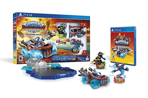 Skylanders SuperChargers Starter Pack - PlayStation 4 (Best Team Games Ps4)