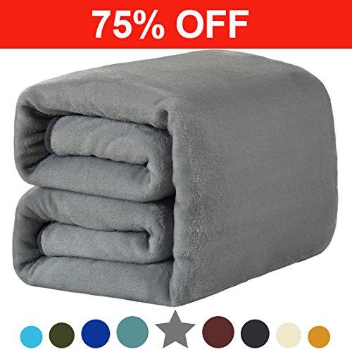 Fleece King Blanket 330 GSM Super Soft Warm Extra Silky Ligh