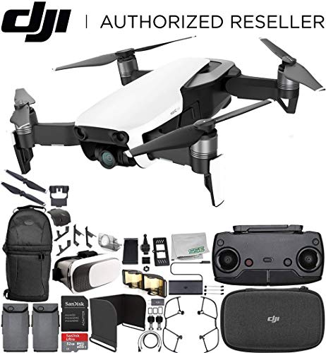 DJI Mavic Air Drone Quadcopter (Arctic White) Essential ()