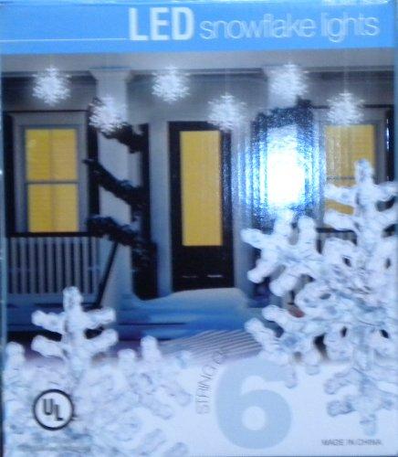 Everstar Merchandise Led Snowflake Lights
