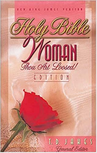 Holy bible woman thou art loosed edition t d jakes holy bible woman thou art loosed edition t d jakes 9780785204954 amazon books fandeluxe Images