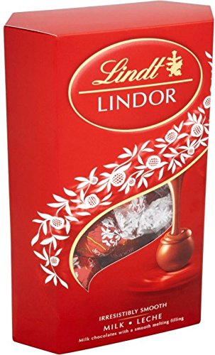 Lindt Trufas De Chocolate Con Leche Lindor (337g) (Paquete de 6)