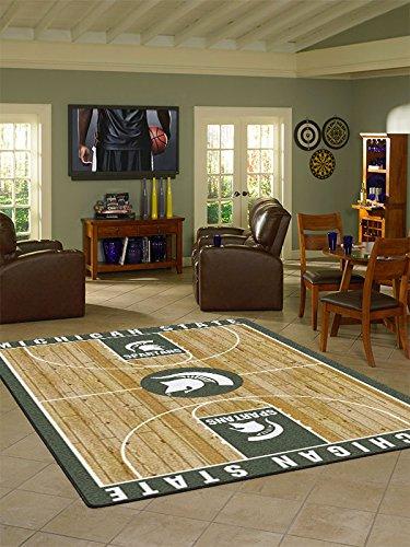 Milliken College Basketball Court Michigan State 5'4