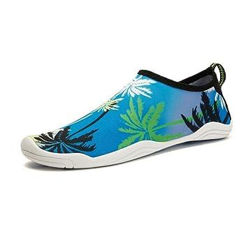 FFTX Buceo Snorkel Wading Creek Zapatillas Zapatillas Transpirable Flip Flop Playa Natación Yoga Zapatos de Gran tamaño: Amazon.es: Deportes y aire libre