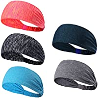 Leories Headbands Head Wrap & Sports Wicking Stretchy...