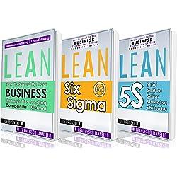 LEAN: Lean Bible - Six Sigma & 5S - 3 Manuscripts + 1 BONUS BOOK (Lean Thinking, Lean Production, Lean Manufacturing, Lean Startup, Kaizen) (English Edition)