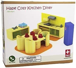 Hape 821511 - Muebles para cocina con comedor [importado de Alemania]
