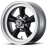 American Racing Custom Wheels VN105 Torq Thrust D Satin Black Wheel With Machined Lip (15x8.5''/5x114.3mm, -25mm offset)