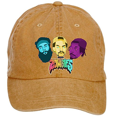 Tommery Unisex Flatbush Zombies Psychedelic Wallpaper Hip Hop Baseball Caps