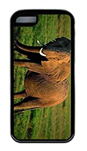 Distinct Waterproof Grassland Elephants Design Your Own iPhone 5c Case