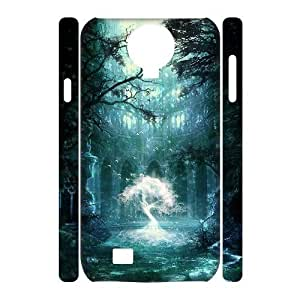 ALICASE Diy Case Fantasy Fairy Tale Cover For Samsung Galaxy S4 i9500 [Pattern-1]