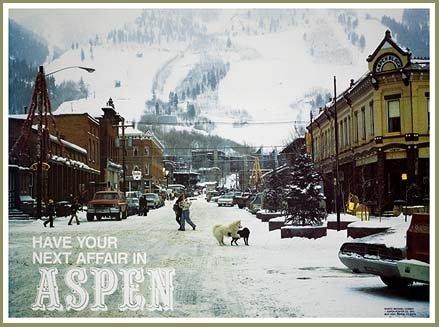 Have Your Next Affair in Aspen Original Ski Poster, 20 x 30 inches ()