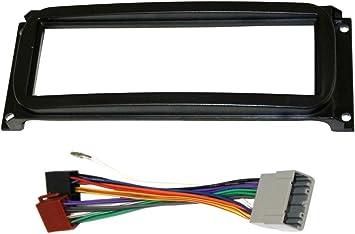 Adaptateur Fa/çade Cadre R/éducteur 1DIN Moulage Cache en Plastique pour remplacer Changer Monter autoradio dorigine par Un Radio Standard de Voiture Auto AERZETIX