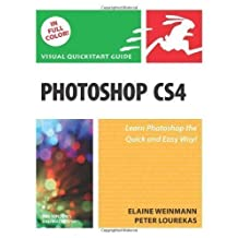 Photoshop CS4: v. 1: Visual QuickStart Guide (Visual QuickStart Guides) 1st (first) Edition by Weinmann, Elaine, Lourekas, Peter published by Peachpit Press (2008)
