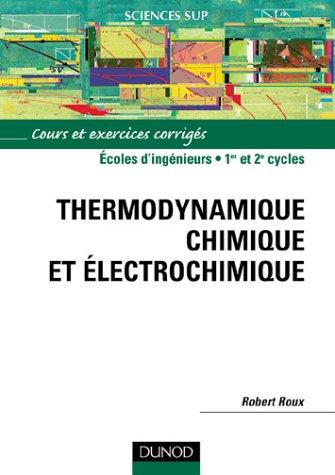 Telecharger Thermodynamique Chimique Et Electrochimique