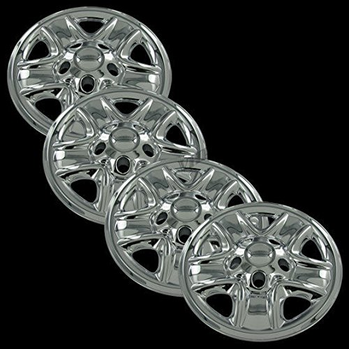 """Overdrive Brands Chrome 18"""" Hub Cap Wheel Skins for Toyota T"""