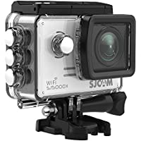 SJCAM SJ5000X Elite WIFI 4K Action Camera 4k@24FPS 1080P 12MP SONY IMX078 Sports Waterproof Underwater Camera Gyro Stabilization 2.0 LCD Screen -Silver