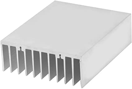 x 1.41 x 2.71 L Befenybay 1pcs Aluminum Heat Sink Heatsink Module,Cooler Cooling for High Power Transistor Semiconductor Devices with 26 pcs fins 3.93 L W H inch//100mm x 69mm H x 36mm W