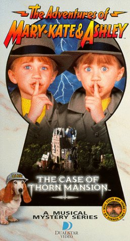 The Adventures of Mary-Kate & Ashley - The Case of Thorn Mansion [VHS] Mary-Kate Olsen
