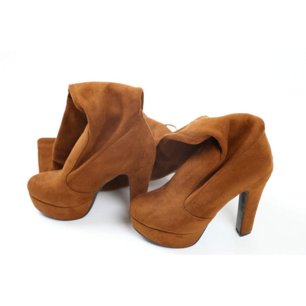 Ai Ya-xuezi Über Die Stiefel Sexy Frauen Stretch Super High Heel Stiefel Damen Stretch Frauen Winter Herbst Mode Schuhe Größe 34-43 d87be2