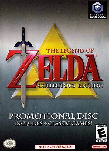 Legend Zelda Collectors Adventure Ocarina GameCube