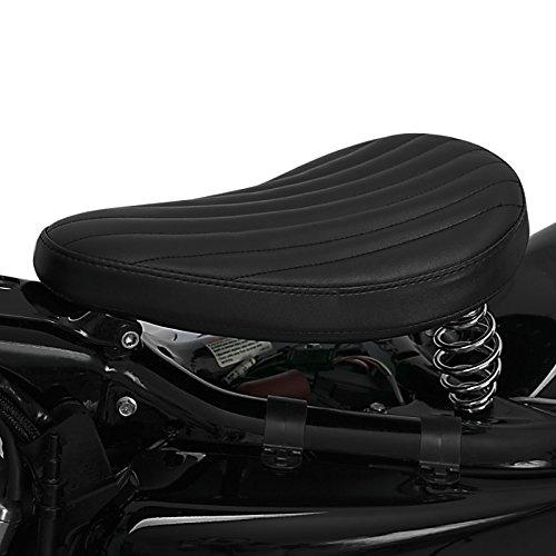 FXSTB VRSCD FLSTC Night Train Night-Rod // Special Road Glide Special//Ultra schwarz Solo Bobber Spring Contoured Schwingsattel f/ür Harley Davidson Heritage Softail Classic VRSCDX