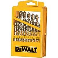 29-Piece Dewalt Drill Bit Set with Metal Index