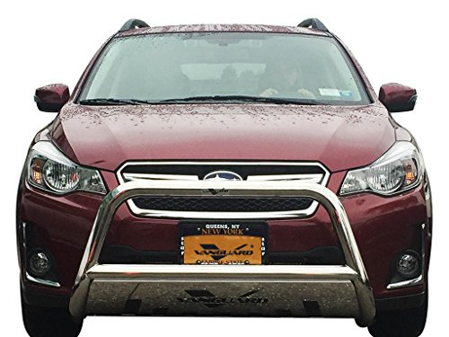 (VANGUARD Off Road VGUBG-1212-1157SS For Subaru Outback 2014-2019 Bumper Guard Stainless Steel Bull Bar with Skid Plate)