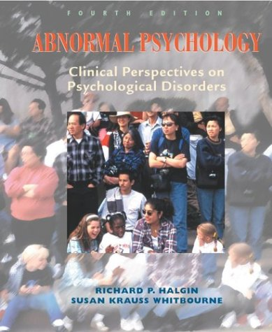 Abnormal Psychology, 4e with Mind Map II CD-ROM