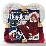 Huggle Hoodie Ultra Plush Blanket Flannel Hoodie Men Women Fleece Warm Coats