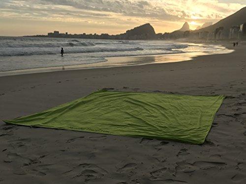 Monster Towel The Worlds Biggest Towel. Big Beach Towel Microfiber Oversized Large Huge Beach Towel(Lime Greeen) by Monster Towel (Image #2)
