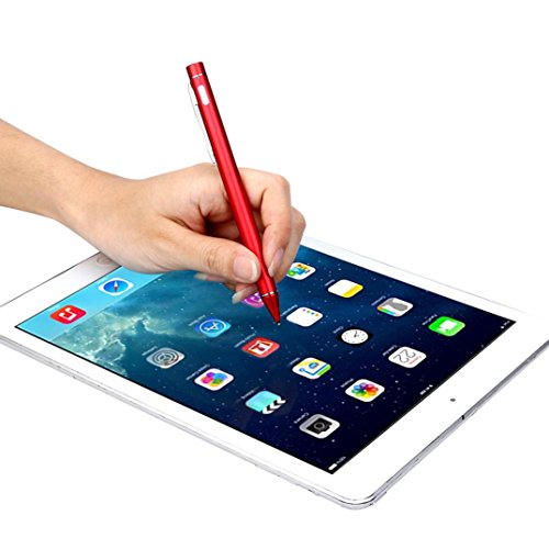 GBSELL Screen Touch Pen Stylus With USB Charging Wire For Apple iPad 2 3 4 mini Pro & Air (Red) by GBSELL