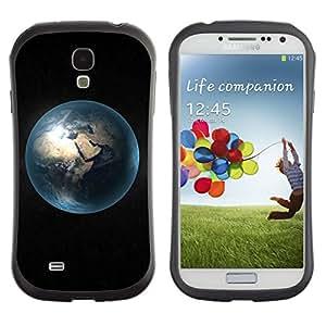 Suave TPU GEL Carcasa Funda Silicona Blando Estuche Caso de protección (para) Samsung Galaxy S4 I9500 / CECELL Phone case / / Blue Planet Earth Distance View Universe Dark /