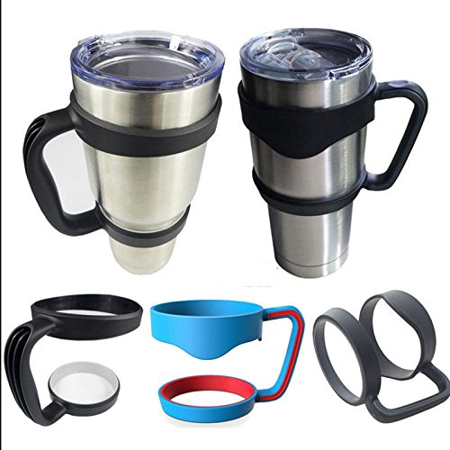 MAZIMARK-Fit Travel Mug Drinkware Hot Handle For 30/20 Oz Yeti Rambler Tumbler Cup Holder by MAZIMARK