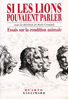 Si les lions pouvaient parler [2 CDs], Cyrulnik, Boris (Ed.)