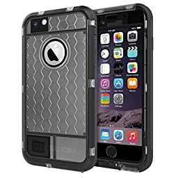 Seidio OBEX Waterproof Case for the iPhone 6 Plus/6s Plus [Drop Proof] [Everyday Protection] - Retail Packaging - Frost
