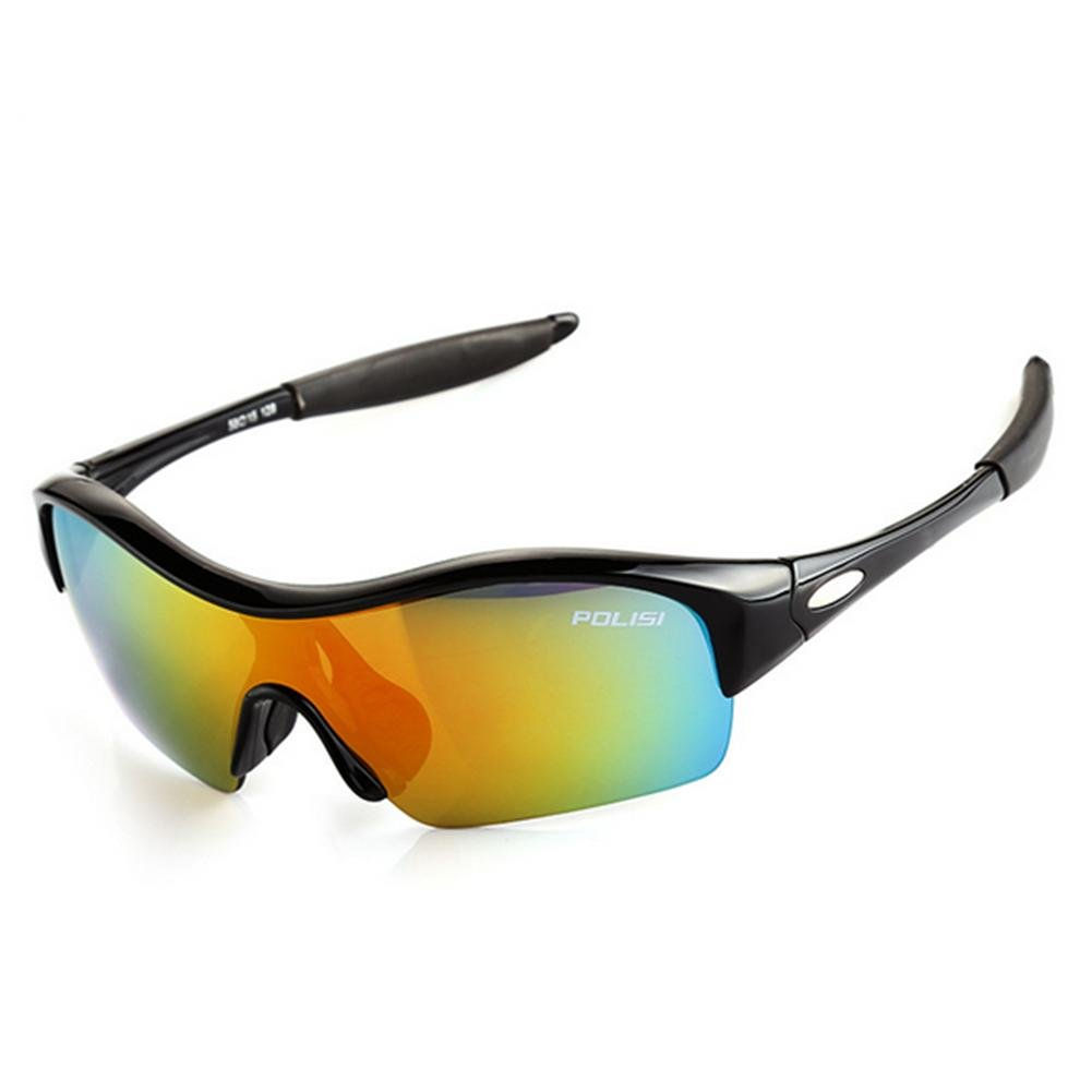 DZW Kinder Witze Brillen Boy winddicht Brille Mädchen Sonnenbrille Baby Sonnenbrille Outdoor Sportbrille , schwarz