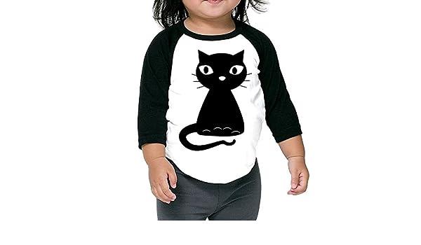 BCXF Children Tee Middle Sleeve T Shirts Black Cat Black .