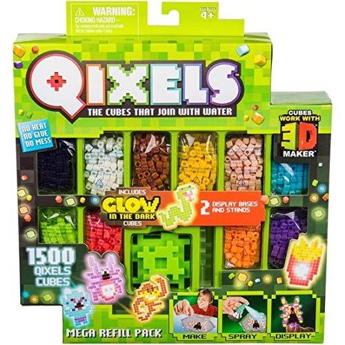 Qixels S4 Mega Refill Pack (Qixels Glow In The Dark Design Creator)