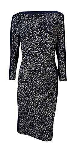 Trim Matte Jersey Dress - 6
