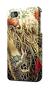 S0122 Yakuza Tattoo Case Cover for Iphone 5 5s
