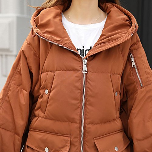TT the Skirt Winter Yellow down in Female Thick Paragraph Jacket Bread Long Casual Service frgrxqHwI