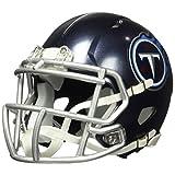 Riddell NFL Tennessee Titans - Casco de Titanio para Mujer, réplica de Mini Velocidad, Estilo 2018, Colores del Equipo, Talla única