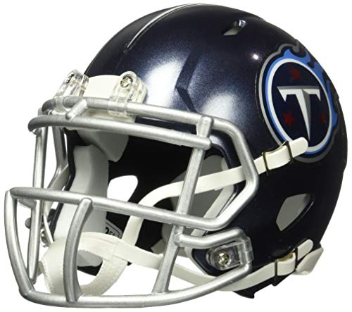 Riddell NFL Tennessee Titans Unisex Replica Mini Speed Styletennessee Titans Helmet Replica Mini Speed Style 2018, Team Colors, One - Tennessee Helmet Replica Mini