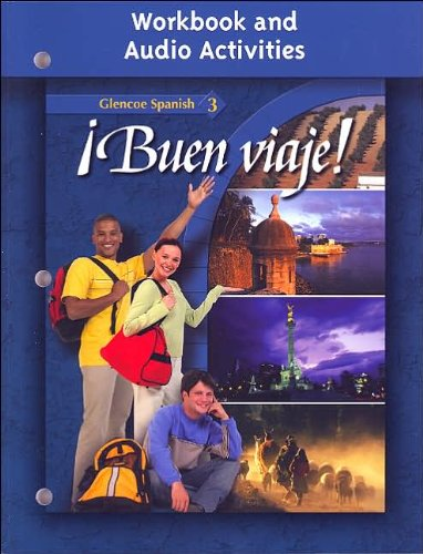 Download ¡Buen viaje! Level 3 Workbook and Audio Activities (text only) 2nd(Second) edition by G.McGraw-Hill pdf
